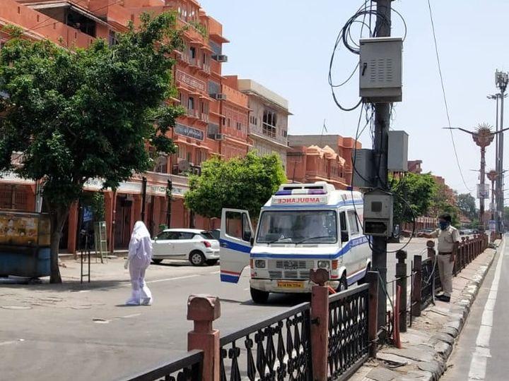 जयपुर में लगातार सामने आ रहे कोरोना पॉजिटिव केस। - Dainik Bhaskar
