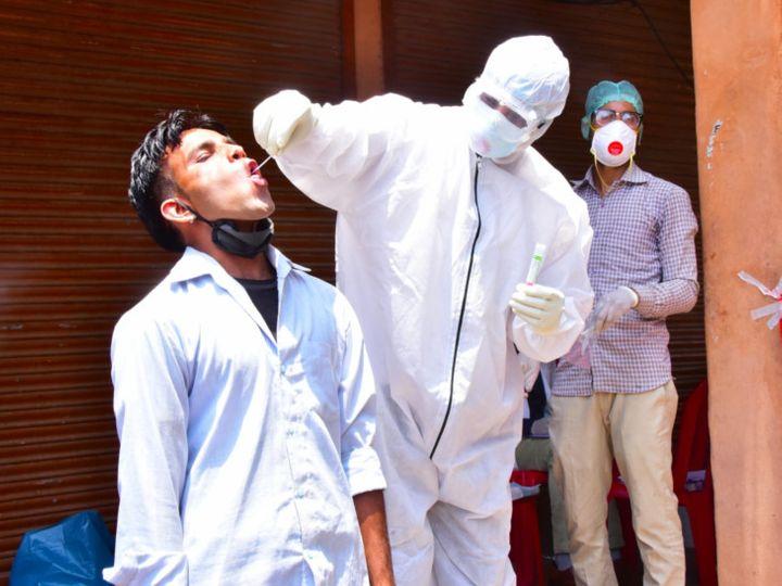 राजस्थान में 11 लाख से ज्यादा लोगों की सैंपलिंग की गई। - Dainik Bhaskar