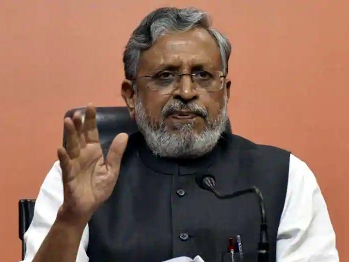 उपमुख्यमंत्री सुशील कुमार मोदी। - Dainik Bhaskar
