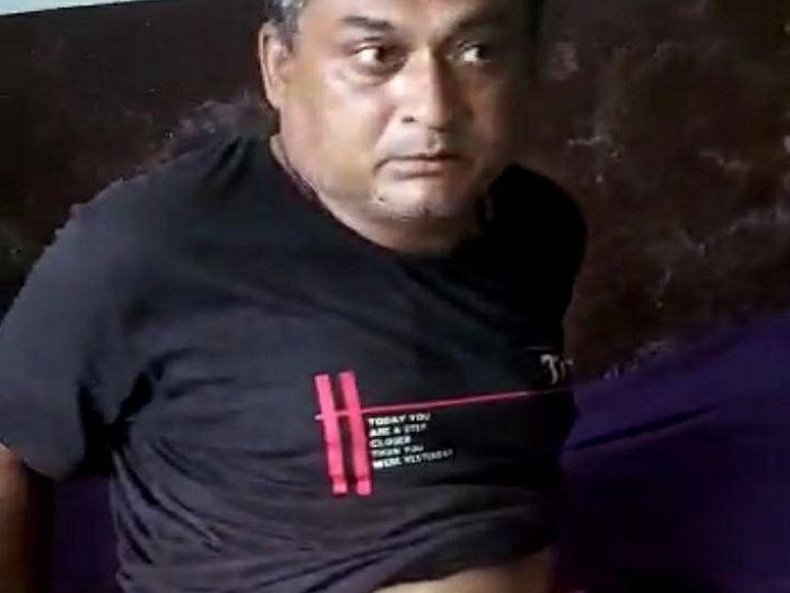 डॉक्टरों के मुताबिक कलेक्शन एजेंट की हालत खतरे से बाहर बताई जा रही है। - Dainik Bhaskar