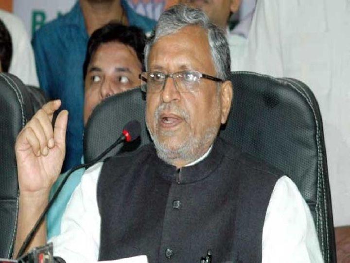 सुशील कुमार मोदी, उप मुख्यमंत्री, बिहार। - Dainik Bhaskar