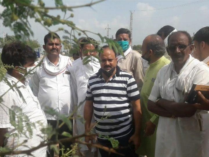 गैंगरेप मामले में पुलिस की कार्यप्रणाली पर रोष जताते पूर्व संसदीय सचिव और भाजपा के प्रदेश मंत्री जितेंद्र गोठवाल। - Dainik Bhaskar