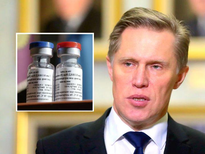 रूसी स्वास्थ्य मंत्री मिखाइल मुराशको मुताबिक, वैक्सीन पर लगे आरोप निराधार और तर्कहीन हैं - Dainik Bhaskar