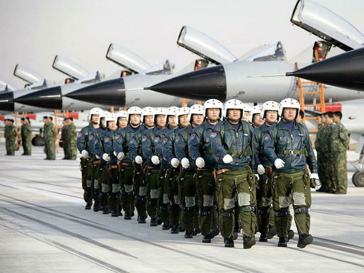 China has deployed Sukhoi-30, J series fighter jets, bomber planes at its air base in Ladakh sector and other important areas. - photo