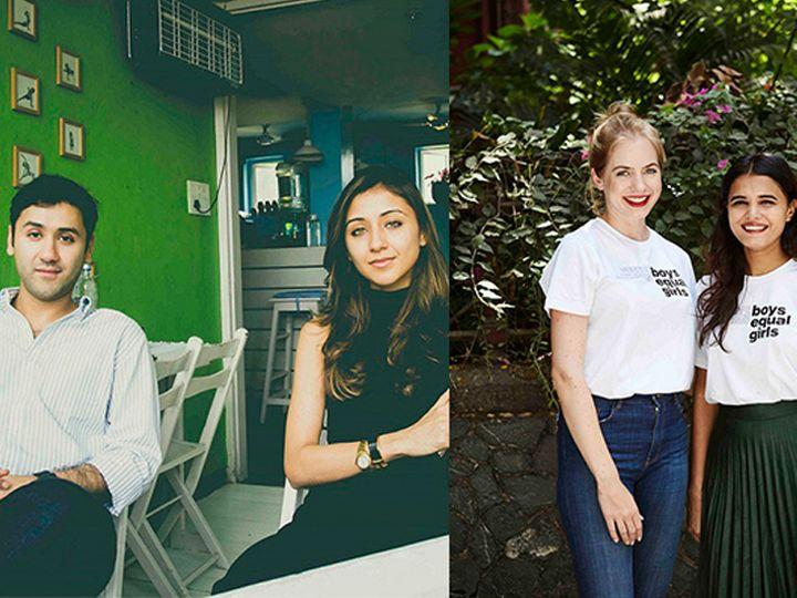Ruchika Parab, Janina Frahm and Shruti Singhi start their venture 'Mix', shirts written to 'Boys Equal Girls' designed to eliminate female inequality | रुचिका परब, जेनिना फ्राहम और श्रुति सिंघी ने की अपने वेंचर 'मिक्स' की शुरुआत, महिला असमानता को खत्म करने के लिए डिजाइन किए 'बॉयज इक्वल गर्ल्स' लिखे शर्ट
