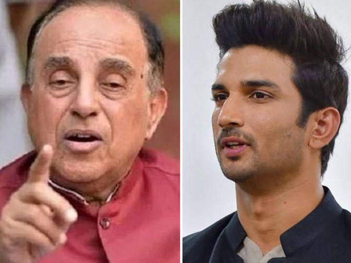 सुब्रह्मण्यम स्वामी सुशांत सिंह राजपूत डेथ केस के तार दुबई से जुड़े होने का दावा पहले भी कर चुके हैं। - Dainik Bhaskar