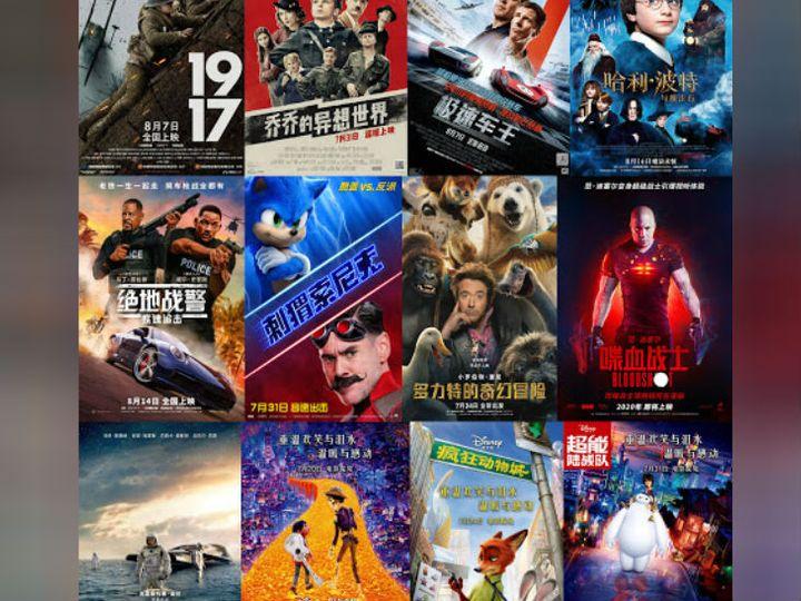 चीन में यूरोप और अमेरिका के बराबर सिनेमा स्क्रीन हैं। - Dainik Bhaskar
