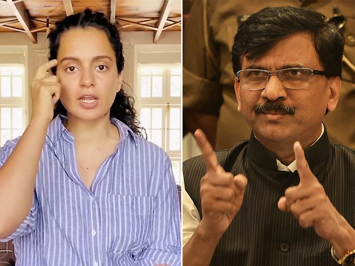 Sanjay Raut says Kangana Ranaut is a mental case, let her go to PoK for two  days, over her controversial 'Mumbai is like PoK' remark. | Kangana Ranot  said - coming to