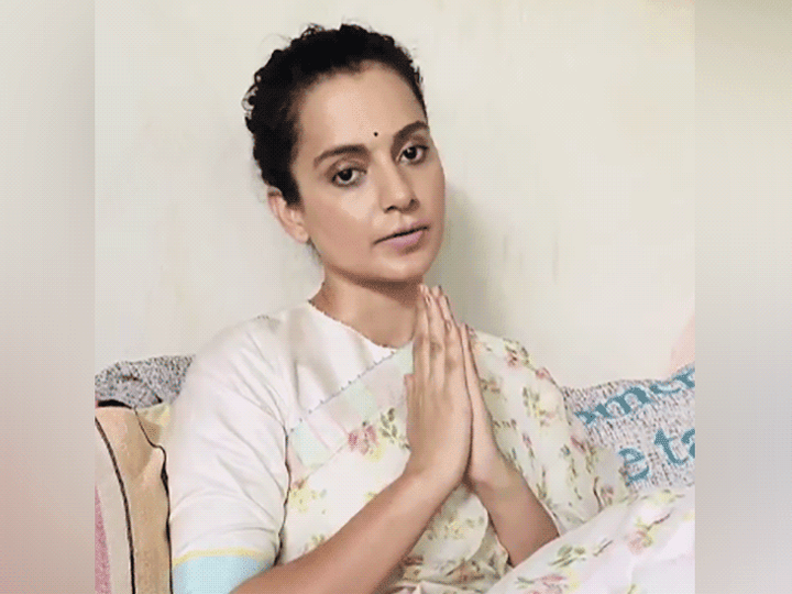 Arriving in Mumbai, Kangana Ranot released a 68-second video. In this, he said that today I make a promise to you that I will make a film not only on Ayodhya, but also on Kashmir and wake up the people of my country.