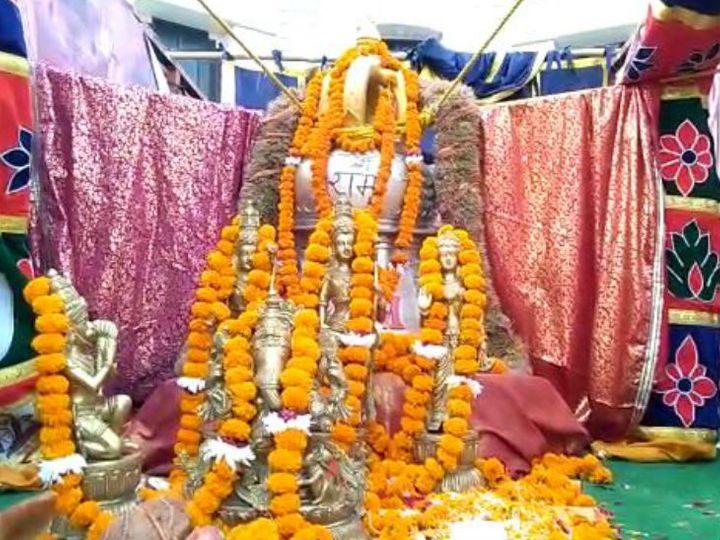 Ayodhya Ram Mandir | Nirman Latest News Update: 613 KG Ram Temple Bronze  Ghanta Reaches From Tamil Nadu | रामलला के मंदिर में लगेगा 613 किलो कांस्य  का घंटा, 10 किमी दूर