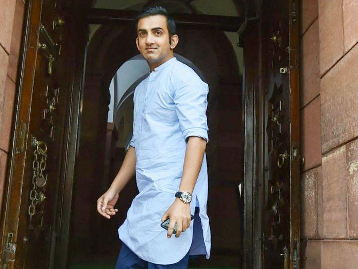 पूर्व क्रिकेटर और भाजपा सांसद गौतम गंभीर ने भी खुद को आइसोलेट कर लिया है। - फाइल फोटो - Dainik Bhaskar