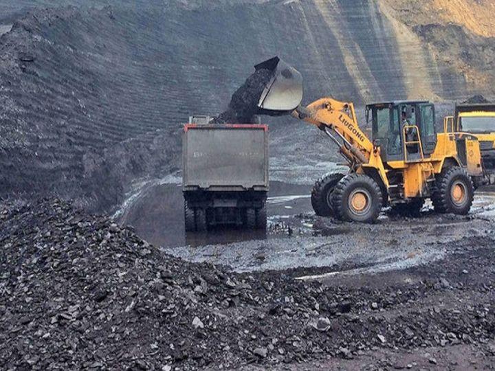 कोयला मंत्रालय ने कहा कि गोंदुलपारा कोयला खदान में 17.633 करोड़ टन का जियोलॉजिकल रिजर्व मौजूद है - Dainik Bhaskar