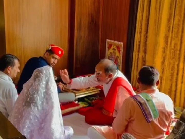 कंगना के भाई की शादी की रस्म होटल में की गई। - Dainik Bhaskar