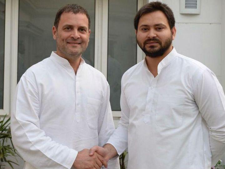 2020 के विधानसभा चुनाव में राजद को 75 सीटें मिली हैं, जबकि कांग्रेस को सिर्फ 19 सीटें हासिल हुई हैं। - Dainik Bhaskar