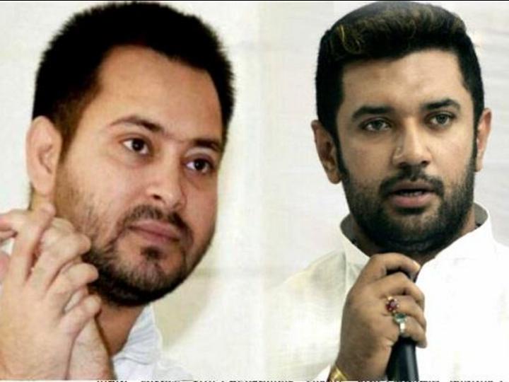नीतीश कुमार ने सोमवार को 7वीं बार बिहार के मुख्यमंत्री पद की शपथ ली। इसके बाद तेजस्वी यादव और चिराग पासवान ने ट्वीट करके उन्हें बधाई दी। (फाइल फोटो) - Dainik Bhaskar