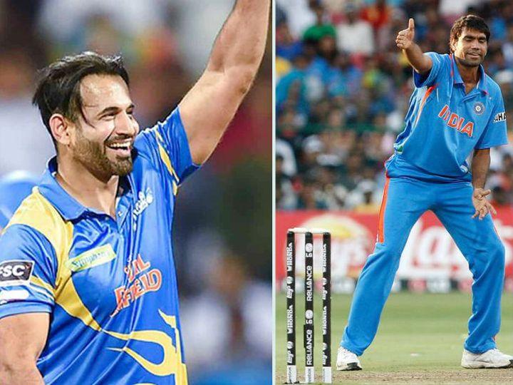 लंका प्रीमियर लीग में इरफान पठान और मुनाफ पटेल दोनों कैंडी टस्कर्स टीम की ओर से खेलते नजर आएंगे। -फाइल फोटो - Dainik Bhaskar