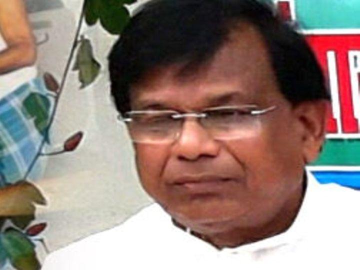 डॉ. मेवालाल चौधरी ने शिक्षा मंत्री का पद संभालने के ढाई घंटे बाद ही इस्तीफा दे दिया। - Dainik Bhaskar