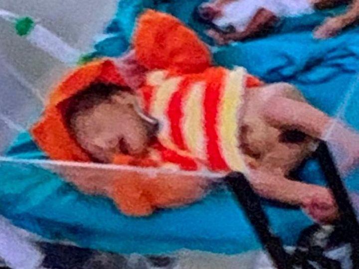 15 नवंबर को चोरी हुआ मासूम शुक्रवार सुबह सकुशल मिल गया। उसे एमवाय अस्पताल में भर्ती करवाया गया है। - Dainik Bhaskar