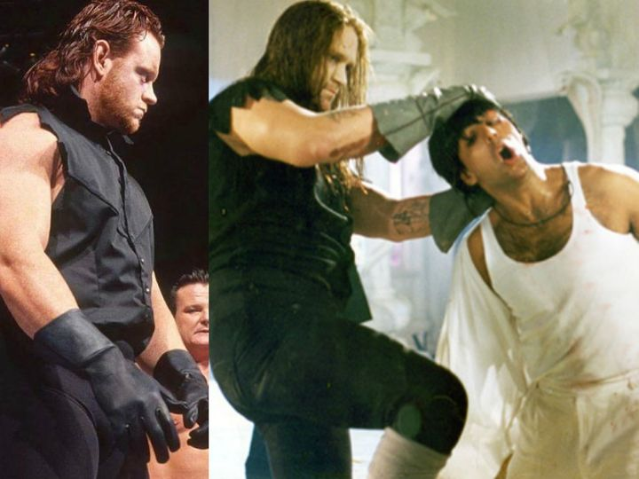 The Undertaker S Retirement The Players Player Was Brian Lee Not The Undertaker Who Fought Akshay Kumar In The Film Akshay Was Injured When He Lifted Digiworldblog