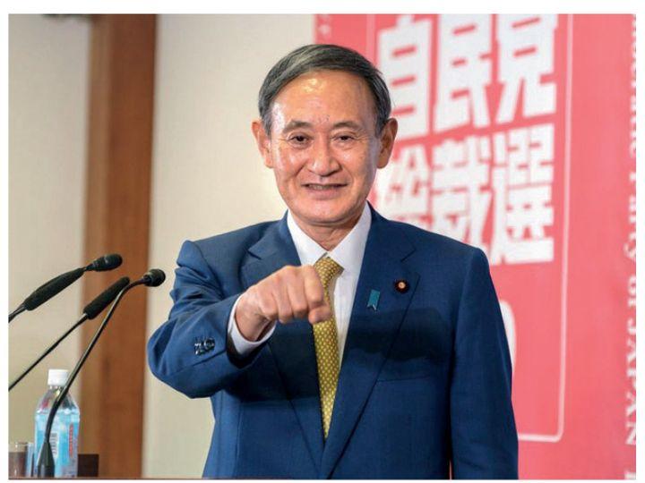 जापान के प्रधानमंत्री योशिंदे सुगा (फाइल फोटो) - Dainik Bhaskar