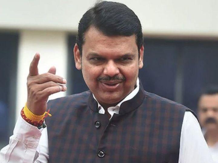 फडणवीस का दावा है कि महाराष्ट्र विकास अगाड़ी सरकार चल नहीं पाएगी। जनता इस सरकार से नाराज है।- फाइल फोटो। - Dainik Bhaskar