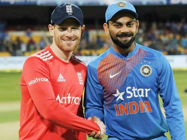 इंग्लैंड अपने दौरे पर भारत के खिलाफ 5 टी-20, 3 वन-डे और 4 टेस्ट मैच की सीरीज खेलेगी।- फाइल फोटो - Dainik Bhaskar