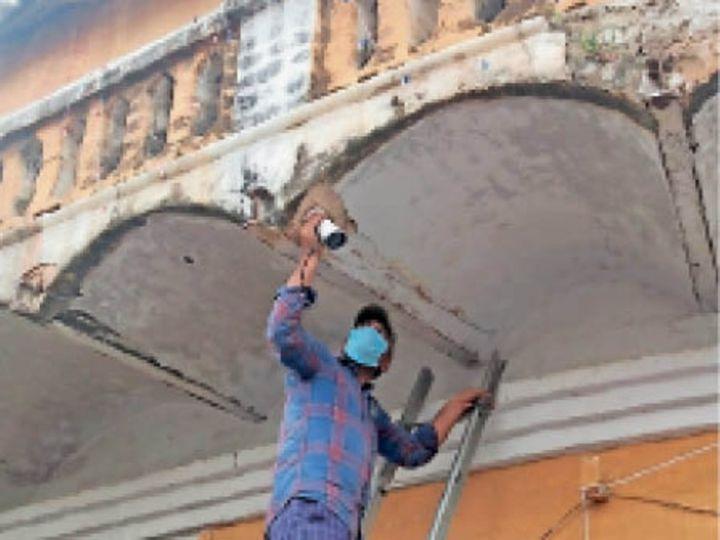 विवादित स्थल की होगी निगरानी - Dainik Bhaskar