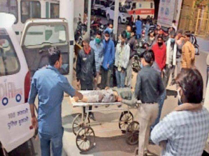 भिड़ंत में दो लोगों की मौत - Dainik Bhaskar