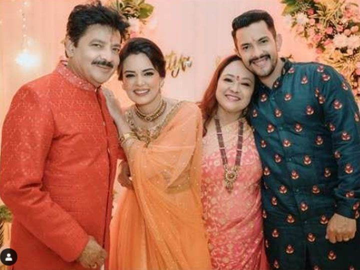 Aditya Narayan And Shweta Agarwal's Wedding Functions Begin; Pictures From Tilak Ceremony Are Gorgeous | 1 दिसंबर को गर्लफ्रेंड श्वेता अग्रवाल से मंदिर में शादी करेंगे आदित्य नारायण ...