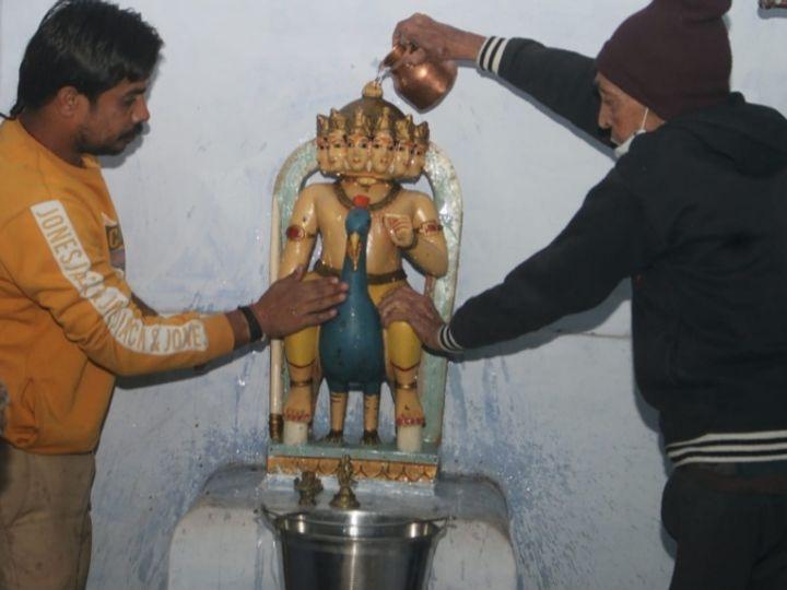 भगवान कार्तिकेय का मंदिर अगले 24 घंटे दर्शन के लिए खुला रहेगा मंदिर - Dainik Bhaskar