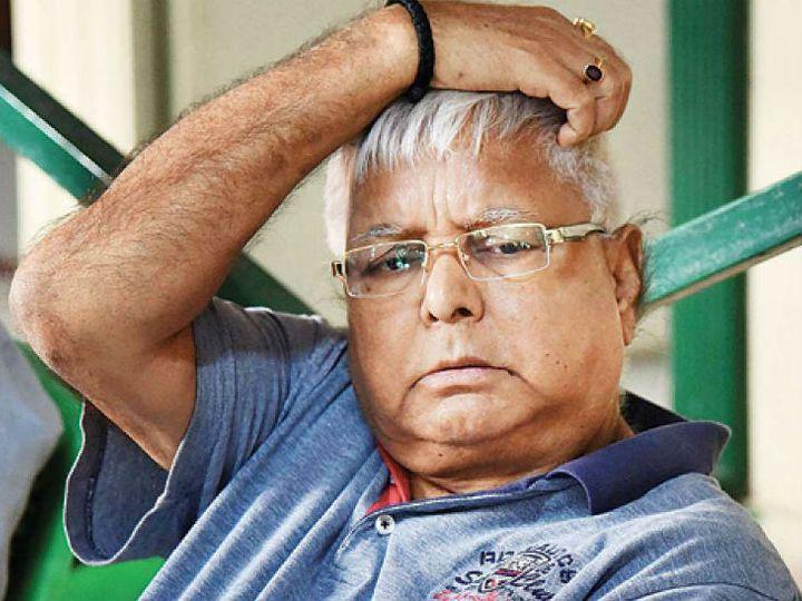 राजद के राष्ट्रीय अध्यक्ष लालू प्रसाद की बढ़ाई गई सुरक्षा व्यवस्था। - Dainik Bhaskar