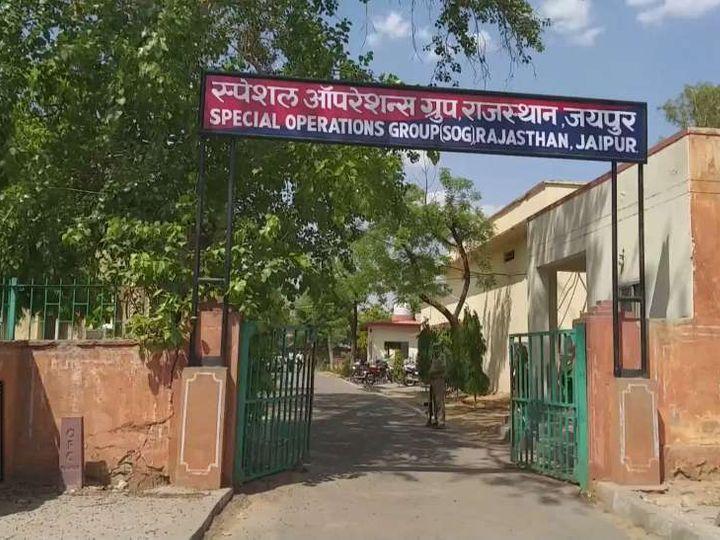 पांच महीने पहले एएसपी सत्यपाल मिड्ढा जयपुर स्थित एसओजी विंग में पदस्थापित थे। रिश्वत के आरोपों से घिरने पर उनका तबादला दिल्ली में आरएसी में कर दिया गया था। - Dainik Bhaskar