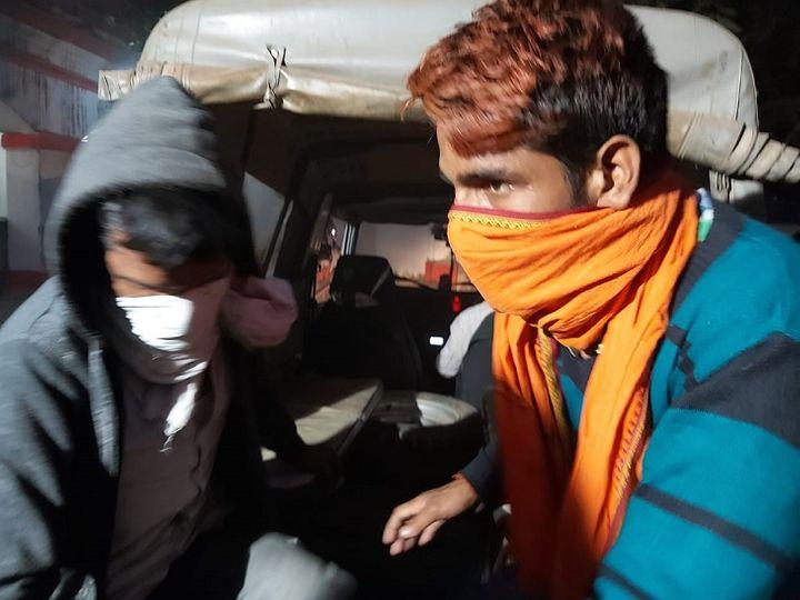 इन्हीं दोनों अपराधियों ने वारदात को अंजाम दिया था। - Dainik Bhaskar