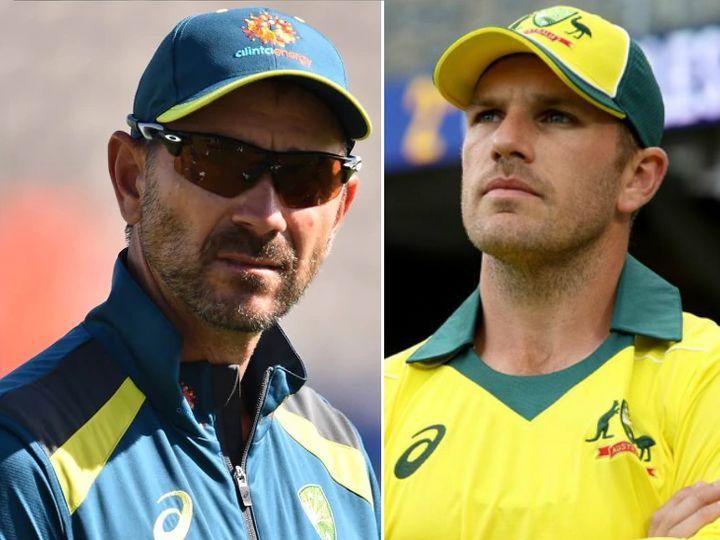 भारत के खिलाफ दूसरे वनडे में डेविड वॉर्नर की चोट ने कोच जस्टिन लैंगर और कप्तान एरॉन फिंच की परेशानियां बढ़ा दी हैं। - Dainik Bhaskar