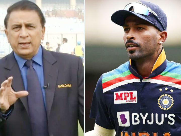 गावस्कर ने कहा कि पंड्या टी-20 में 3 से 4 ओवर बॉलिंग करते हैं, तो अन्य बॉलर्स से प्रेशर रिलीज होगा। - Dainik Bhaskar