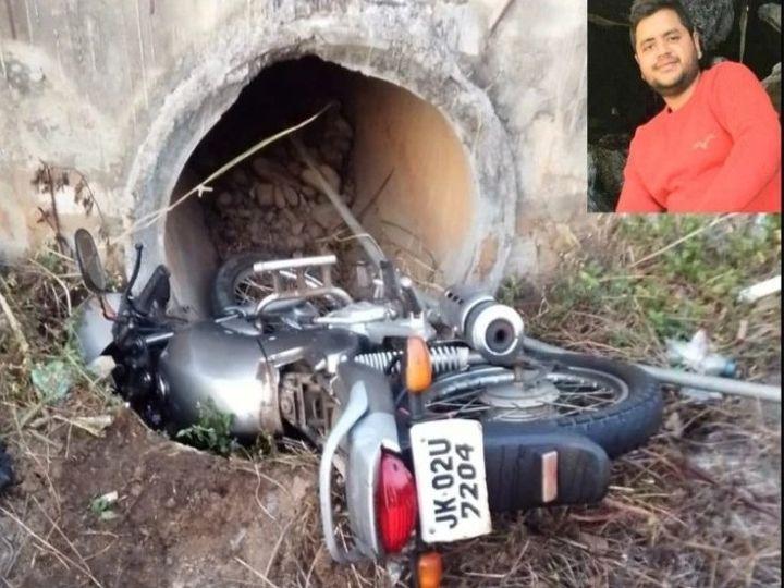 राहगीरों ने हादसे में घायल अरुण को अस्पताल पहुंचाया, जहां इलाज के दौरान उसने दम तोड़ दिया। - Dainik Bhaskar