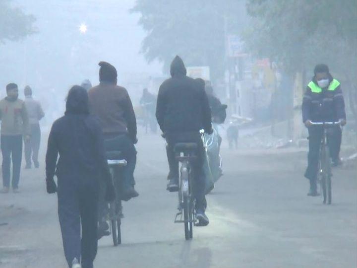 पश्चिमी यूपी  के आधा दर्जन जिलों में बारिश होने की चेतावनी जारी की गई है। - Dainik Bhaskar