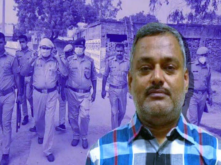 बिकरु कांड में एसआईटी जांच के बाद अब शिवली व रूरा थाने में तैनात रहे कुछ थाना प्रभारियों के ऊपर कार्रवाई की तलवार लटक रही है। फाइल फोटो - Dainik Bhaskar