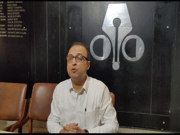 गुरुवार को चंडीगढ़ प्रेस क्लब में सोशियो पॉलिटिकल आंत्रप्रिन्योर संदीप शर्मा ने की इस मुद्दे पर बात - Dainik Bhaskar