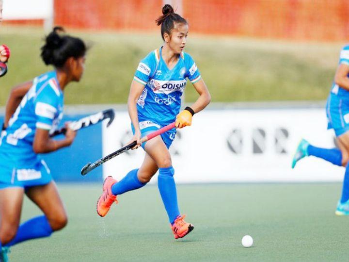 भारतीय जूनियर महिला हॉकी टीम ने अपना आखिरी टूर्नामेंट दिसंबर 2019 में खेला था। - Dainik Bhaskar