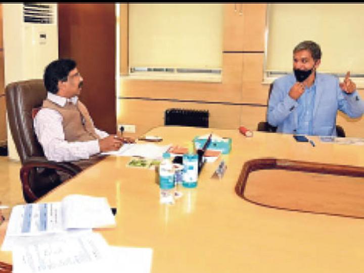 सीएम, स्वास्थ्य मंत्री व सीएस ने की समीक्षा। - Dainik Bhaskar