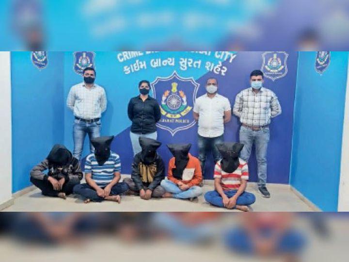 स्कूल बैग में चोरी करने का सामान लेकर 2-3 टुकड़ियों में निकलते थे - Dainik Bhaskar