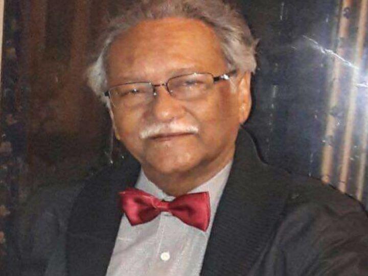 """राज बिसारिया एक भारतीय निर्देशक, निर्माता, अभिनेता और शिक्षाविद हैं, जिन्हें प्रेस ट्रस्ट ऑफ इंडिया द्वारा """"उत्तर भारत में आधुनिक थिएटर का जनक"""" कहा जाता है। - Dainik Bhaskar"""