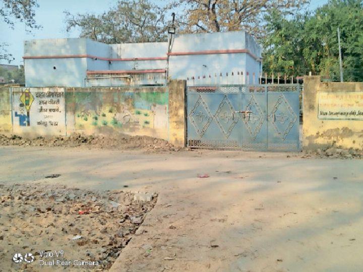 बसंतपुर स्थित बीडीओ आवास - Dainik Bhaskar