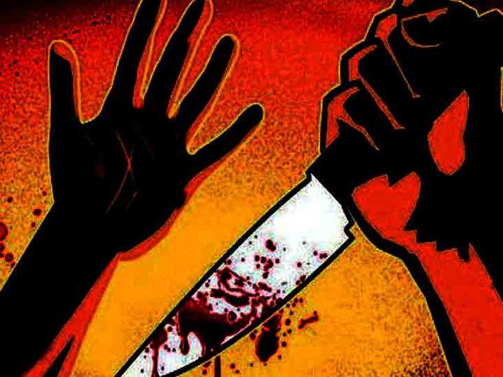 शहर के हल्लोमाजरा इलाके में देर रात कुछ लोगों ने एक युवक को चाकू मार घायल कर दिया। डेमो फोटो - Dainik Bhaskar