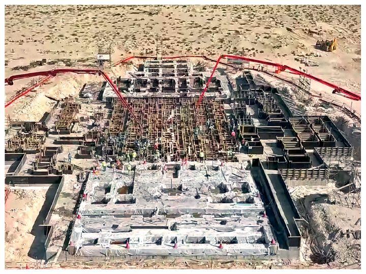 मंदिर में करीब 5,000 टन इटैलियन कैरारा मार्बल का इस्तेमाल होगा। - Dainik Bhaskar