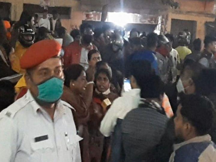 4 जनवरी को CM हाउस लौटते समय काफिले पर हुआ था हमला। (फाइल) - Dainik Bhaskar