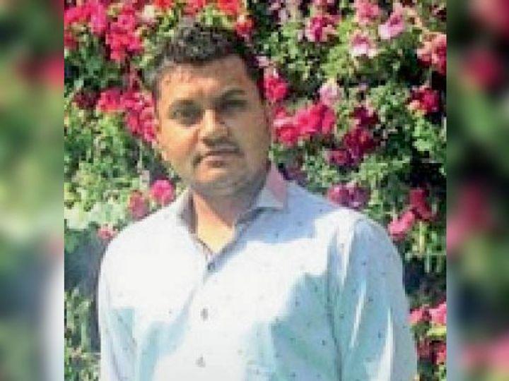 मृतक विरल - Dainik Bhaskar