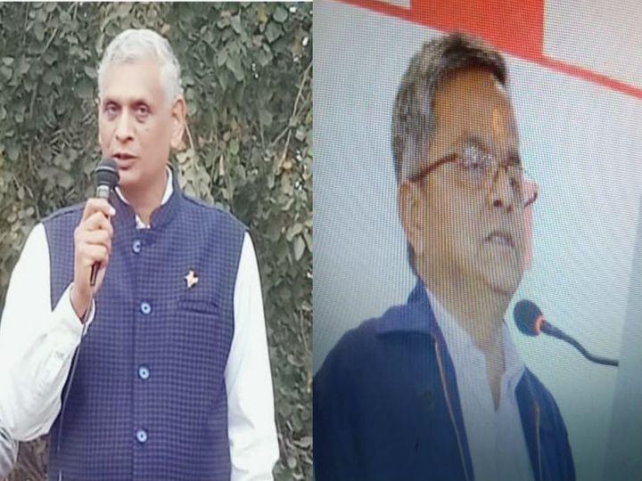 आरएसएस की ब्यावरा में हुई बैठक में रिटायर्ड जज अशोक पांडे मध्य भारत प्रांत के संघचालक तथा यशवंत इंदापुरकर प्रांत कार्यवाह निर्वाचित हुए। - Dainik Bhaskar