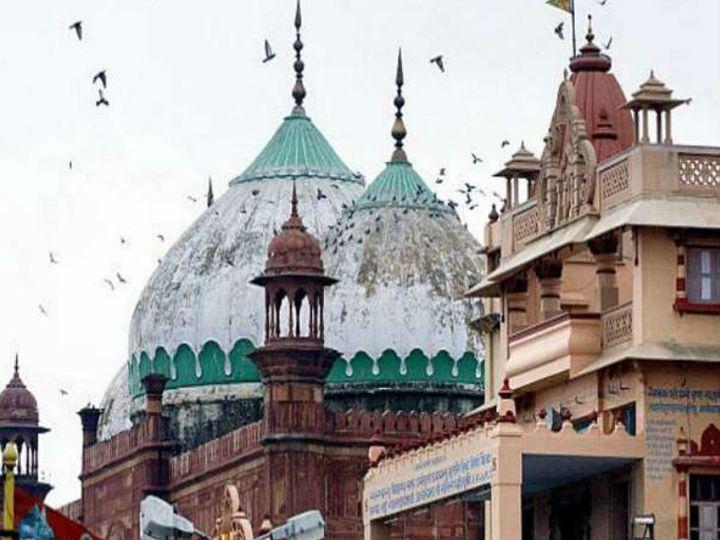 याचिका में मस्जिद की पूरी 13.37 एकड़ जमीन को श्रीकृष्ण जन्मभूमि ट्रस्ट को सौंपने की मांग की गई है। - Dainik Bhaskar